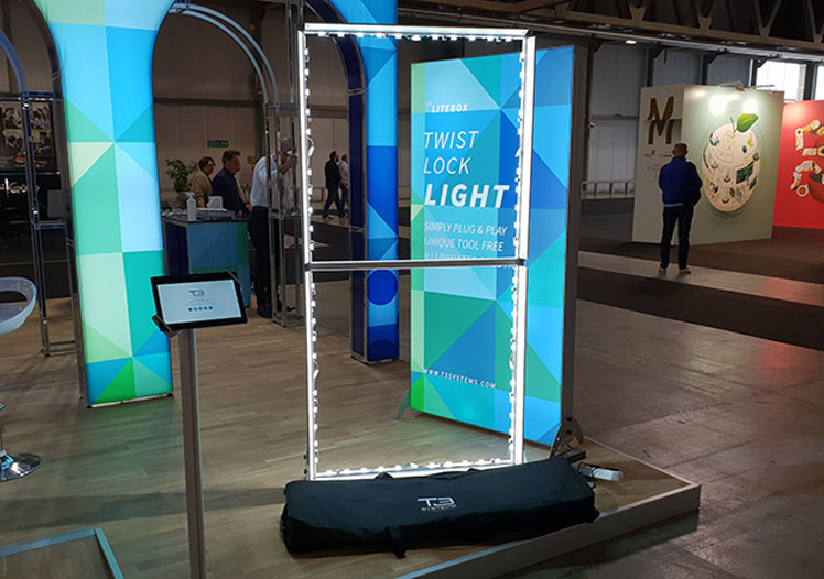 Lightbox PopUp Displays - T3 Systems