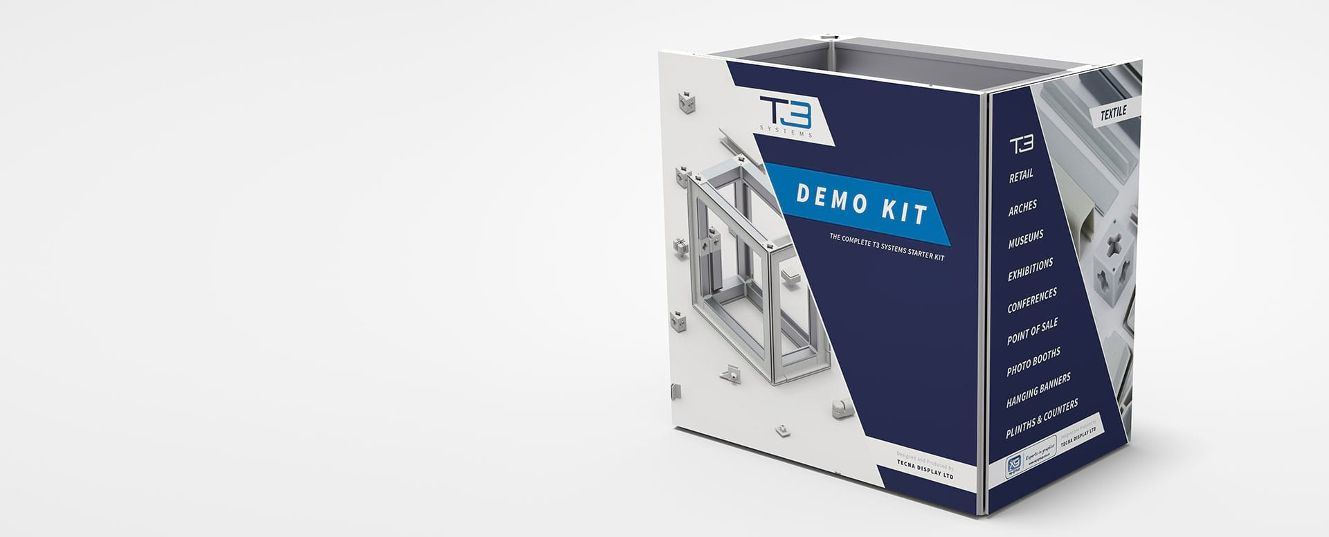 Display & Exhibition Stand Display Solutions from T3 Systems